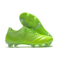adidas Copa 20.1 FG Firm Ground Cleats Signal Green White