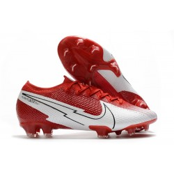 Nike New Mercurial Vapor XIII Elite FG Crimson White