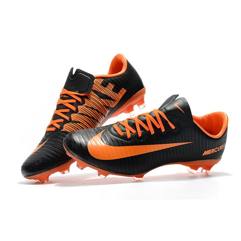 reputable site e5afc 6a066 Nike Mercurial Vapor 11 FG Men's Soccer Boots - Black Orange