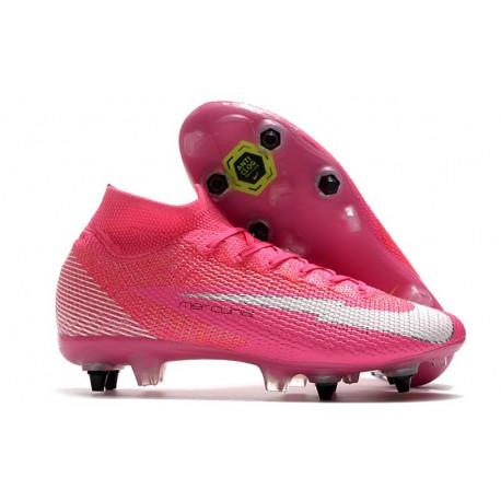Nike Mercurial Superfly VII Elite SG AC Mbappé Rosa - Pink Blast White