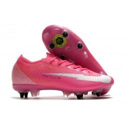 Nike Mercurial Vapor XIII Elite SG Mbappé Rosa - Pink Blast White Blac
