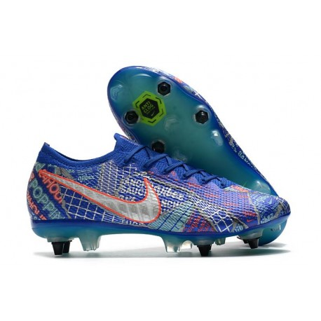 Nike Mercurial Vapor 13 Elite Sancho Fg Racer Blue White Aurora Green