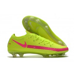 New Nike Phantom GT Elite FG Boots Brazil Volt Pink