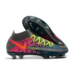 Nike Phantom GT Elite DF FG Firm Ground Grey Navy Pink