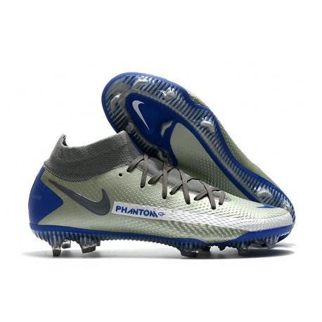 Nike Phantom Generative Texture GT DF Boot Grey Blue