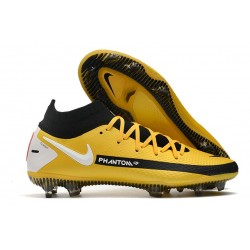 Nike Phantom Generative Texture GT DF Boot Yellow Black White