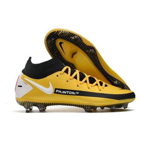 Nike Phantom Generative Texture GT DF Boot Yellow Black White