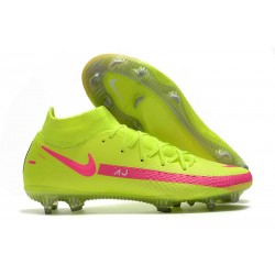 Nike Phantom Generative Texture GT DF Boot Volt Pink