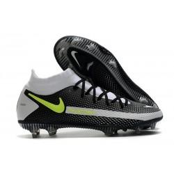 Nike Phantom Generative Texture GT DF Boot Black Grey Volt