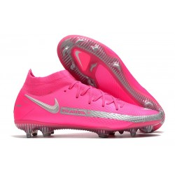 Nike Phantom Generative Texture GT DF Boot Pink Silver