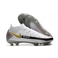 Nike Phantom GT Elite DF FG Firm Ground White Black Red