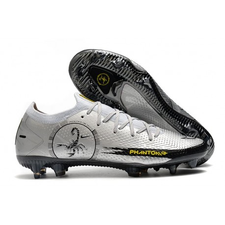 NIKE PHANTOM GT ELITE SE FG - PHANTOM SCORPION Silver Black