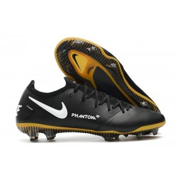Nike Phantom GT Elite Tech Craft FG Black White Golden