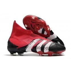 adidas Predator Mutator 20+ FIrm Ground Black Red White