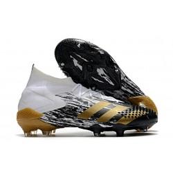 New adidas Predator Mutator 20.1 FG White Gold Metallic Core Black