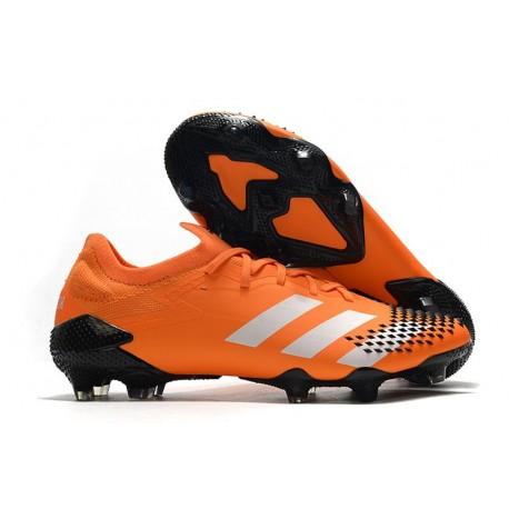adidas Predator Mutator 20.1 Low Firm Ground Orange White Black
