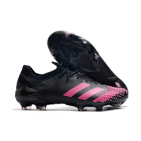 adidas Predator Mutator 20.1 Low Firm Ground Black Pink