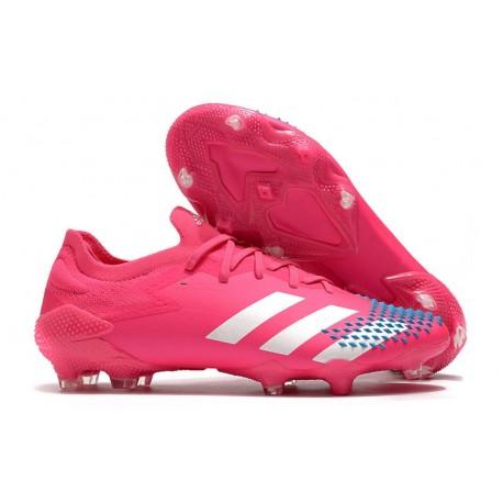 adidas Predator Mutator 20.1 Low Firm Ground Pink White
