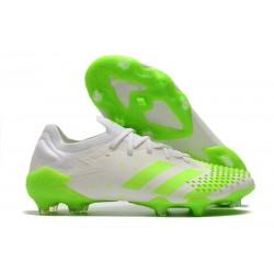 adidas Predator Mutator 20.1 Low Firm Ground White Green