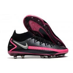 Nike Phantom GT Elite DF AG-PRO Black Pink Blast Metallic Silver