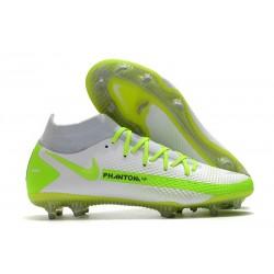 Nike Phantom GT Elite DF FG Firm Ground White Green