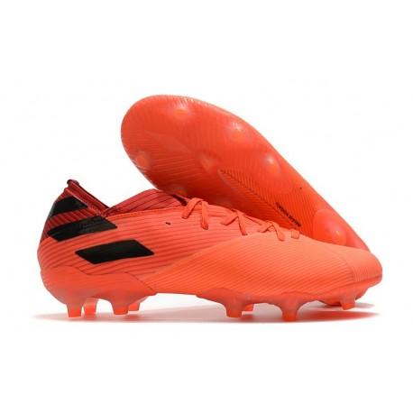 adidas Nemeziz 19.1 FG Firm Ground Signal Coral Core Black Glory Red