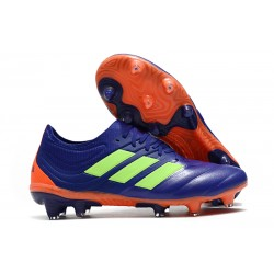 New adidas Copa 19.1 FG Soccer Shoes - Purple Green