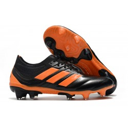 New adidas Copa 19.1 FG Soccer Shoes - Core Black Orange