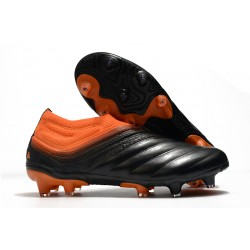 adidas Copa 20+ FG Leather Boots Signal Coral Core Black Glory Red