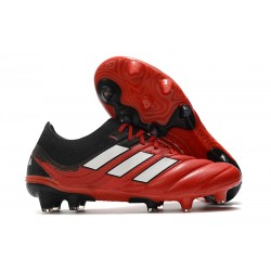 adidas Copa 20.1 FG Firm Ground Cleats Active Red White Core Black