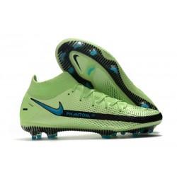 Nike Phantom GT Elite DF FG Firm Ground Green Blue