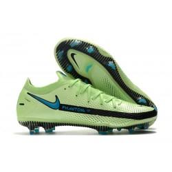 Nike Phantom GT Elite FG Firm-Ground Cleat Impulse - Lime Glow Aquamarine