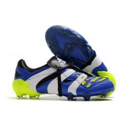 New adidas Predator Accelerator FG Boots - Blue White Yellow