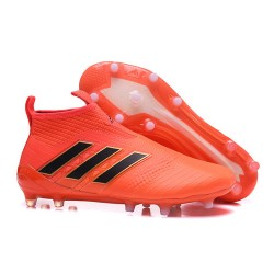 adidas ACE 17+ Purecontrol FG Men Football Boots - Orange Black