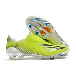 adidas X Ghosted + FG Boots Solar Yellow Core Black