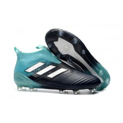 adidas ACE 17+ Purecontrol FG Men Football Boots - Black Blue White