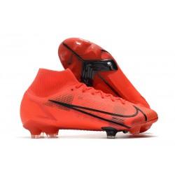 Nike Mercurial Superfly VIII Elite FG Cleats Red Black