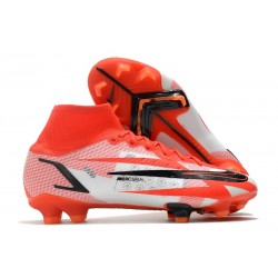 Nike Superfly 8 Spark Positivity CR7 Elite FG Chile Red Black White Total Orange