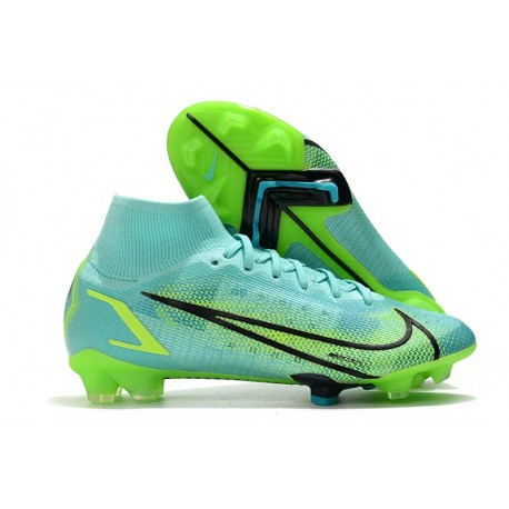 Top Nike Mercurial Superfly 8 Elite FG Dynamic Turq Lime Glow