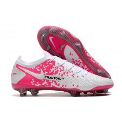 Nike New Phantom GT Elite FG White Pink