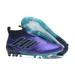 adidas ACE 17+ Purecontrol FG Men Football Boots - Purple Black