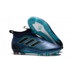 adidas ACE 17+ Purecontrol FG Men Football Boots - Blue Black