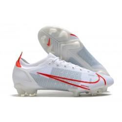 Nike 2021 Mercurial Vapor XIV Elite FG White Red