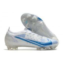 Nike 2021 Mercurial Vapor XIV Elite FG White Blue