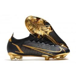 Nike 2021 Mercurial Vapor XIV Elite FG Black Gold