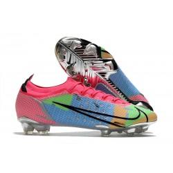 News Nike Mercurial Vapor 14 Elite FG Blue Pink Green