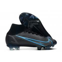 Top Nike Mercurial Superfly 8 Elite FG Black Iron Grey