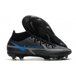 Nike Phantom GT 2 Elite Dynamic Fit FG Renew - Black Iron Grey