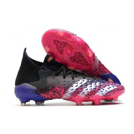 adidas Predator Freak.1 FG Shoes Core Black White Shock Pink