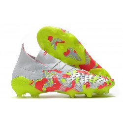 adidas Predator Freak.1 FG Shoes White Pink Volt
